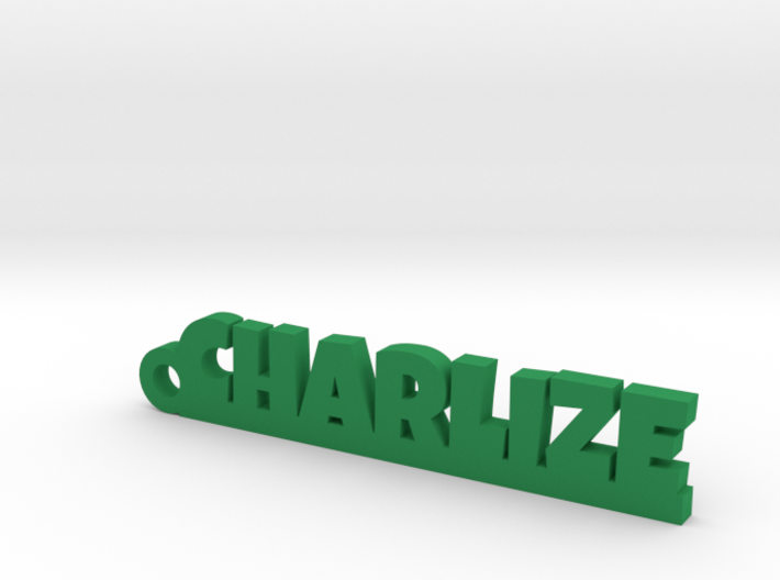 CHARLIZE Keychain Lucky 3d printed
