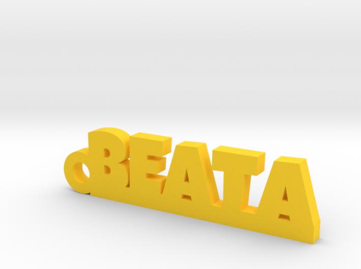 BEATA Keychain Lucky 3d printed