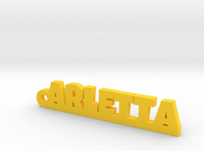 ARLETTA Keychain Lucky 3d printed