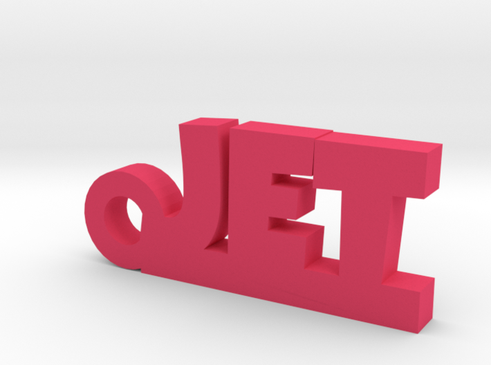 JET Keychain Lucky 3d printed
