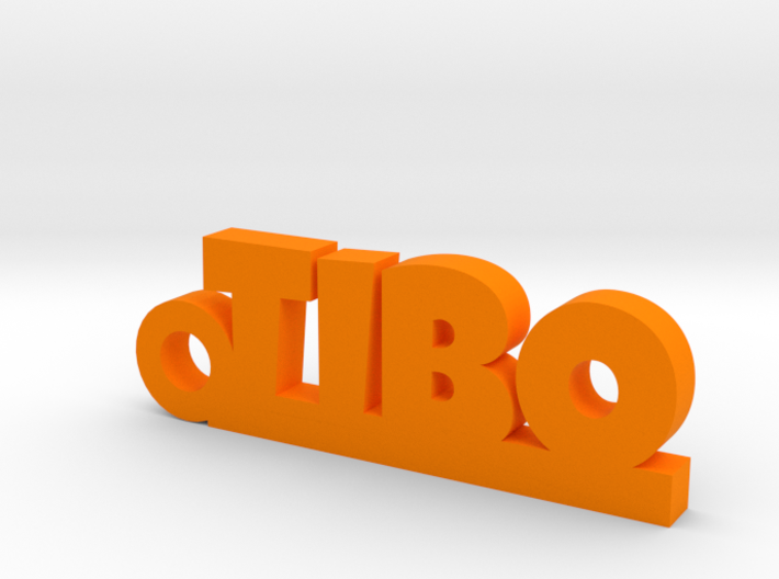 TIBO Keychain Lucky 3d printed
