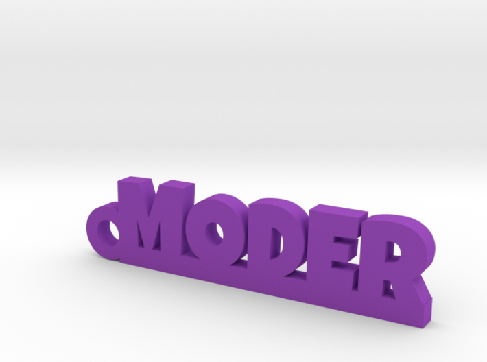 MODER Keychain Lucky 3d printed