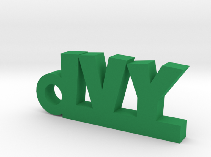 IVY Keychain Lucky 3d printed