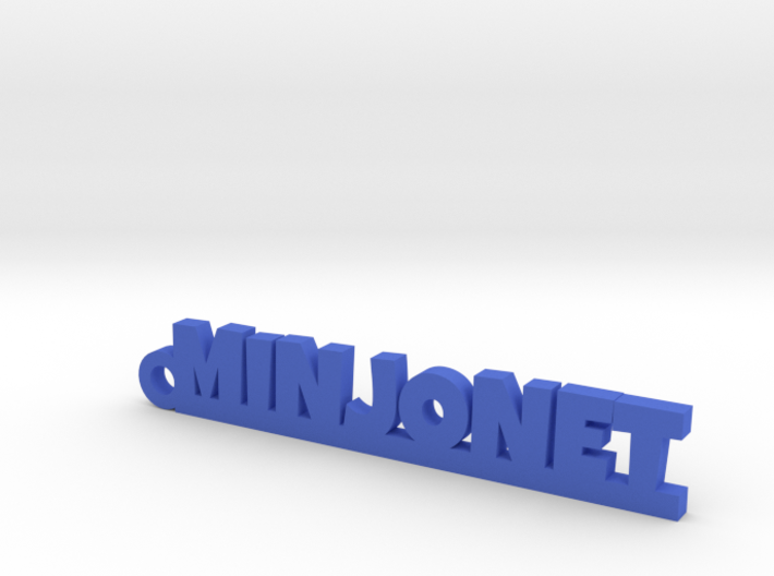 MINJONET Keychain Lucky 3d printed
