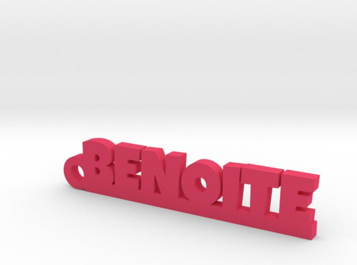 BENOITE Keychain Lucky 3d printed