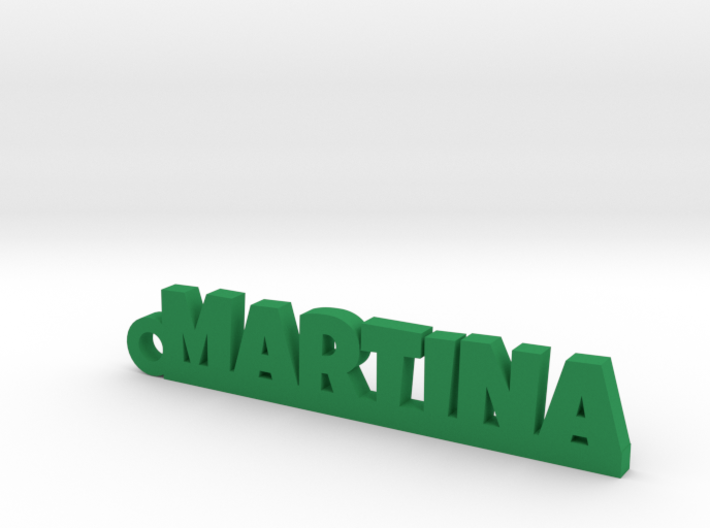 MARTINA Keychain Lucky 3d printed
