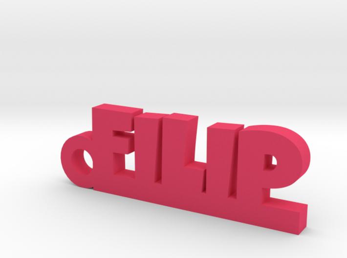FILIP Keychain Lucky 3d printed