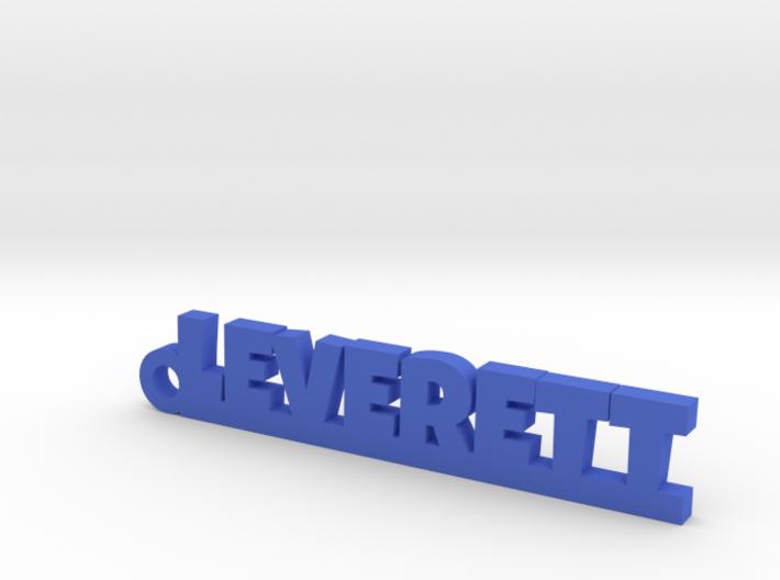 LEVERETT Keychain Lucky 3d printed