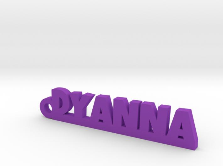 DYANNA Keychain Lucky 3d printed