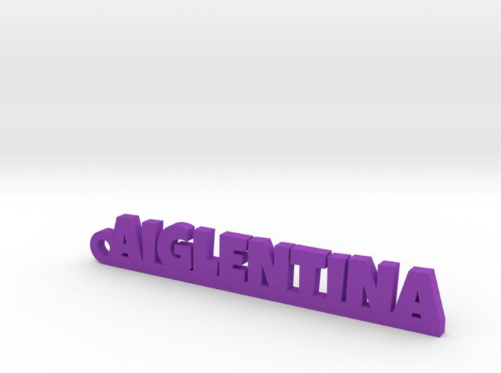 AIGLENTINA Keychain Lucky 3d printed