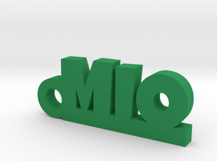 MIO Keychain Lucky 3d printed