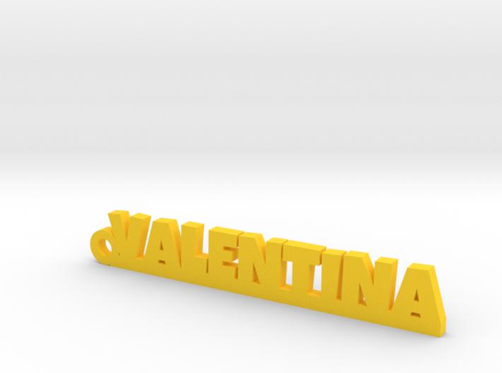 VALENTINA Keychain Lucky 3d printed