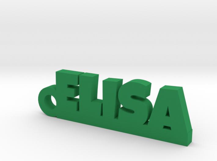 ELISA Keychain Lucky 3d printed