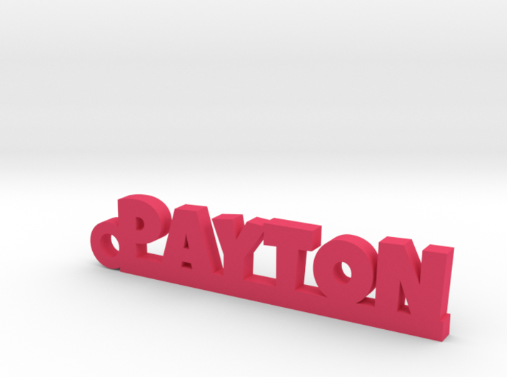 PAYTON Keychain Lucky 3d printed