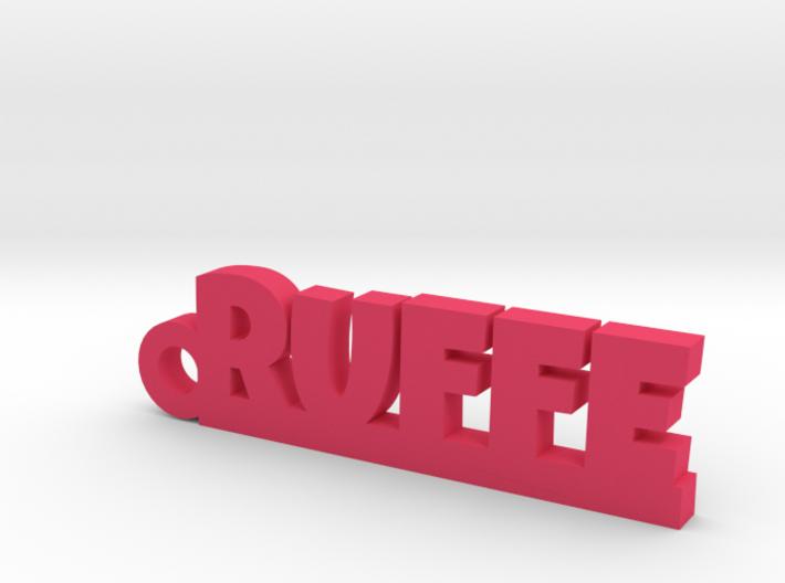RUFFE Keychain Lucky 3d printed
