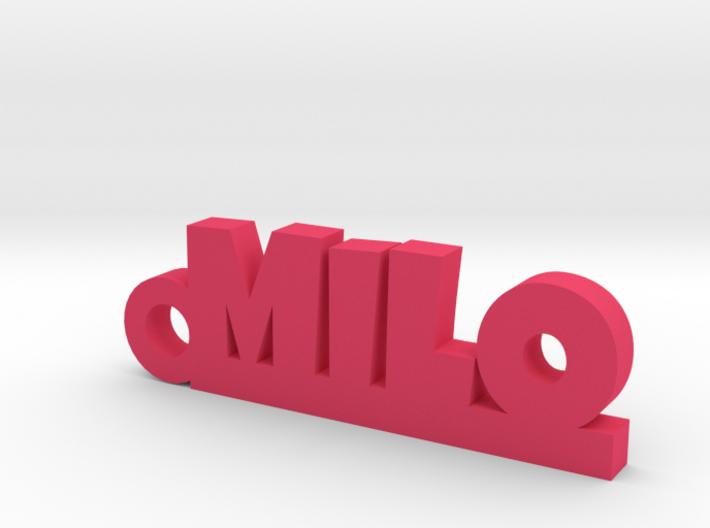 MILO Keychain Lucky 3d printed