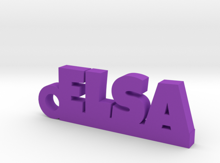 ELSA Keychain Lucky 3d printed