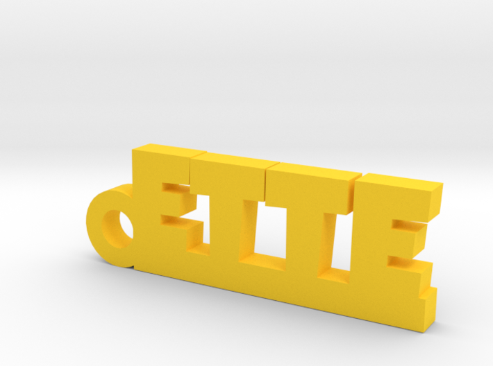 ETTE Keychain Lucky 3d printed