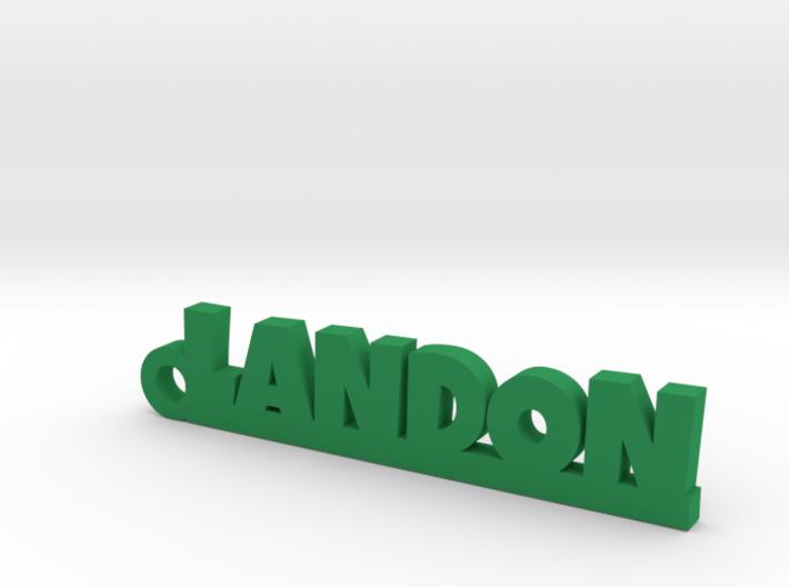 LANDON Keychain Lucky 3d printed