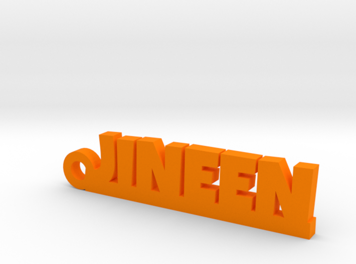 JINEEN Keychain Lucky 3d printed