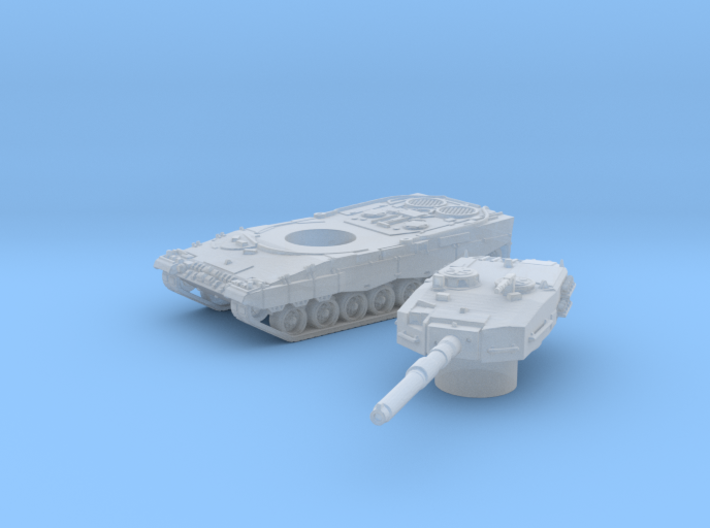 Leopard II tank (Germany) 1/200 3d printed