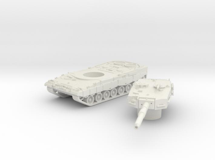 Leopard II tank (Germany) 1/87 3d printed