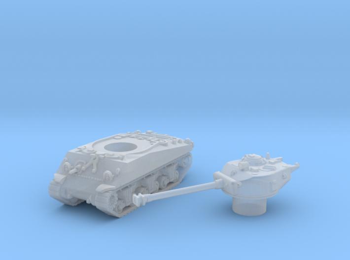 M4 Sherman Tank (Usa) 1/200 3d printed