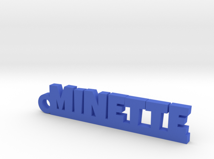 MINETTE Keychain Lucky 3d printed