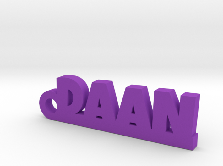 DAAN Keychain Lucky 3d printed