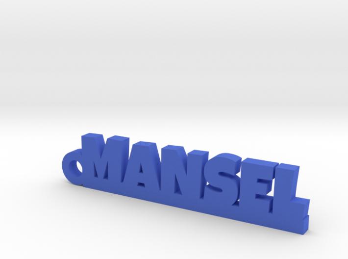 MANSEL Keychain Lucky 3d printed