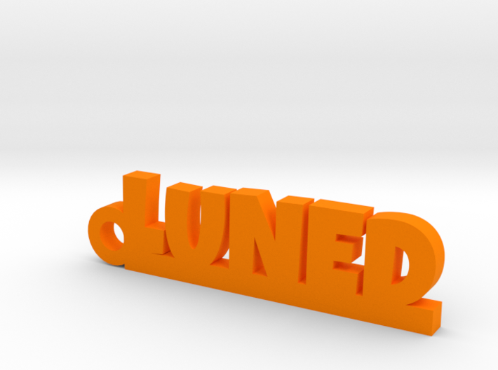 LUNED Keychain Lucky 3d printed