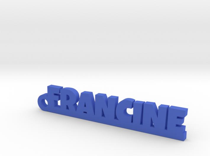 FRANCINE Keychain Lucky 3d printed