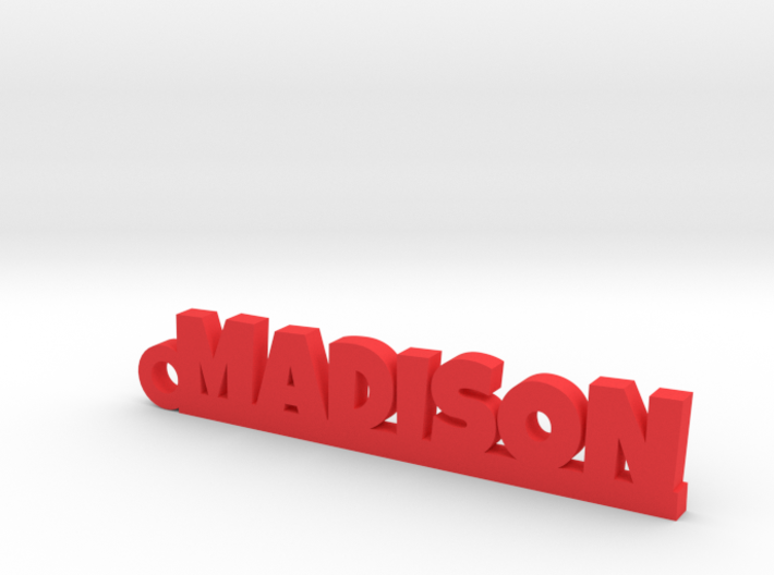 MADISON Keychain Lucky 3d printed