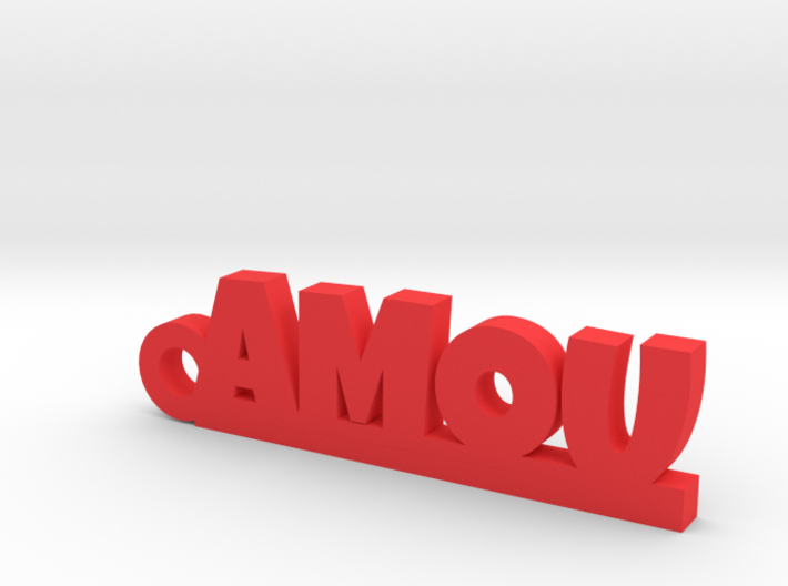 AMOU Keychain Lucky 3d printed