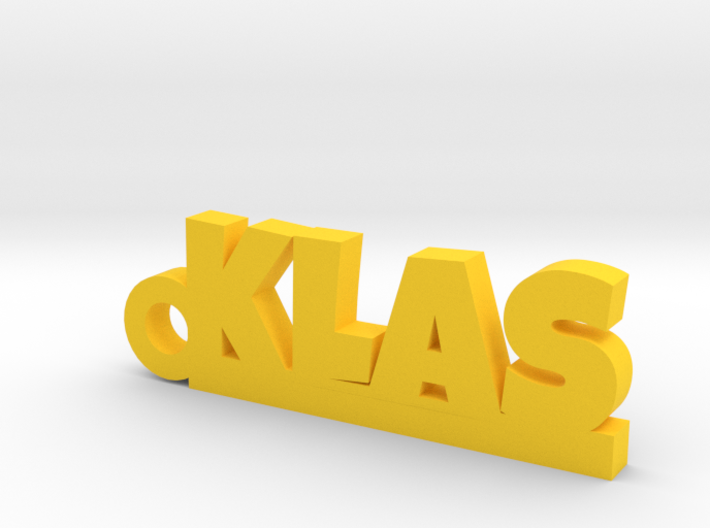 KLAS Keychain Lucky 3d printed