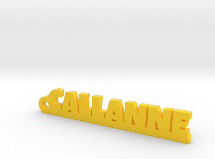 CALLANNE Keychain Lucky 3d printed