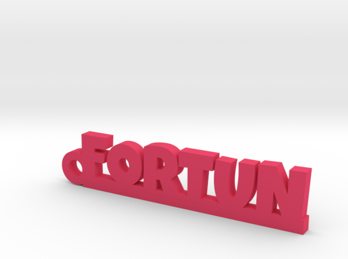 FORTUN Keychain Lucky 3d printed
