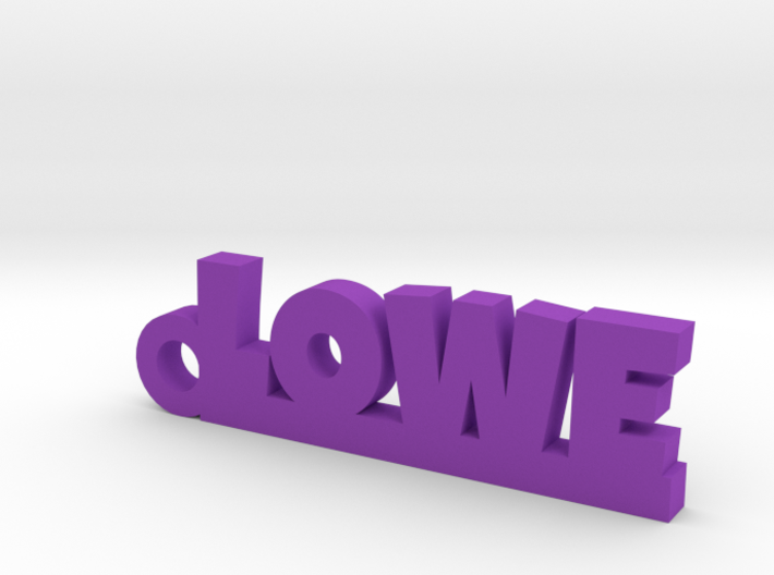 LOWE Keychain Lucky 3d printed