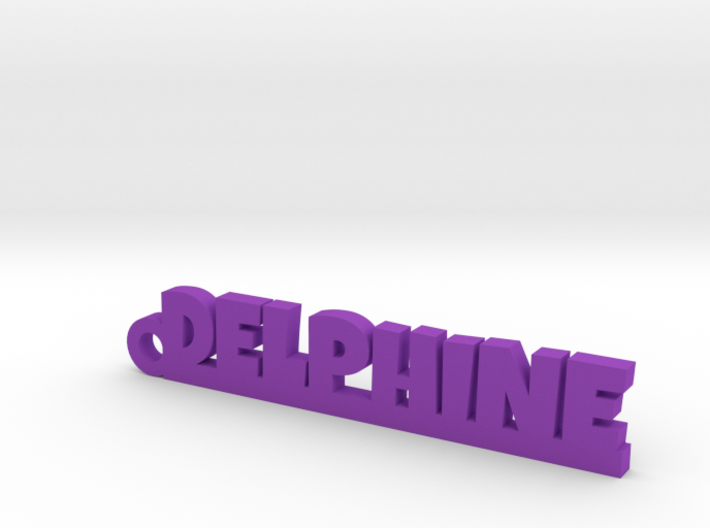 DELPHINE Keychain Lucky 3d printed