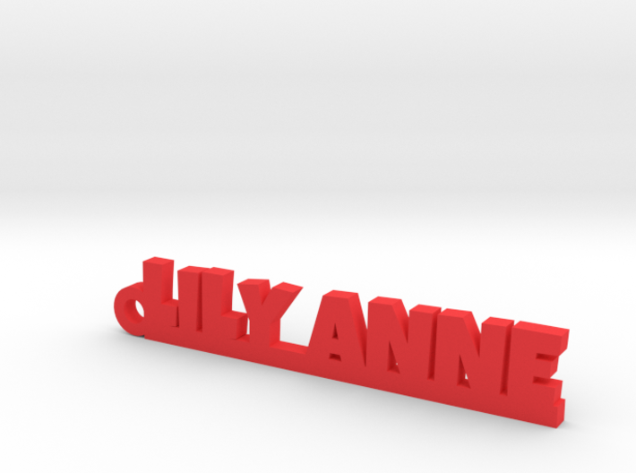 LILY ANNE Keychain Lucky 3d printed