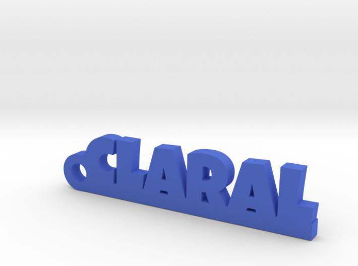 CLARAL Keychain Lucky 3d printed