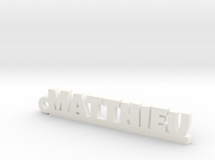 MATTHIEU Keychain Lucky 3d printed