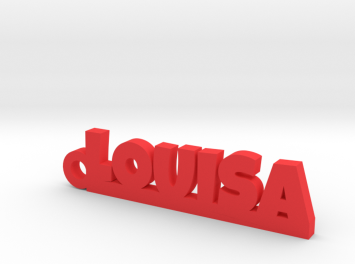 LOUISA Keychain Lucky 3d printed