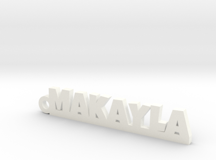 MAKAYLA Keychain Lucky 3d printed