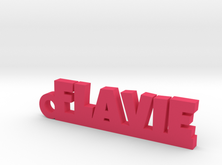 FLAVIE Keychain Lucky 3d printed