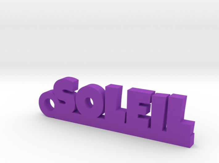 SOLEIL Keychain Lucky 3d printed