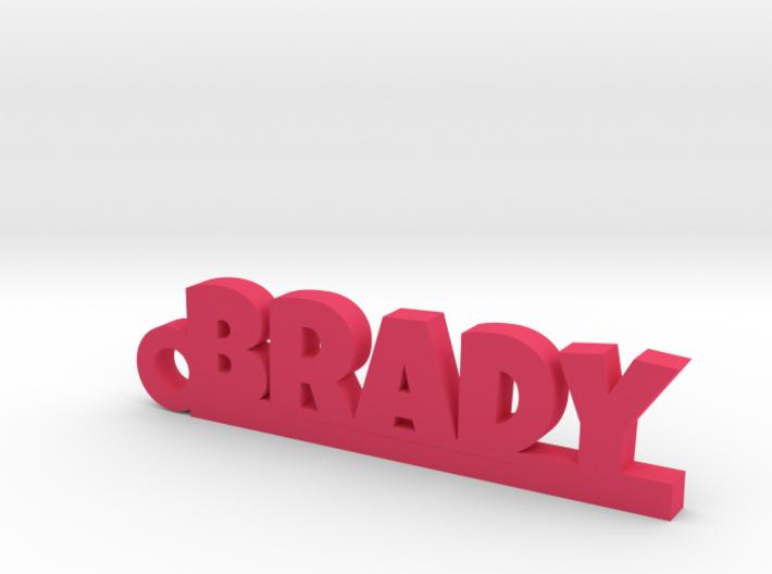 BRADY Keychain Lucky 3d printed