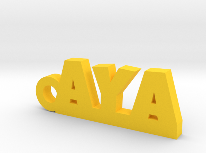 AYA Keychain Lucky 3d printed