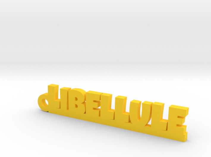 LIBELLULE Keychain Lucky 3d printed