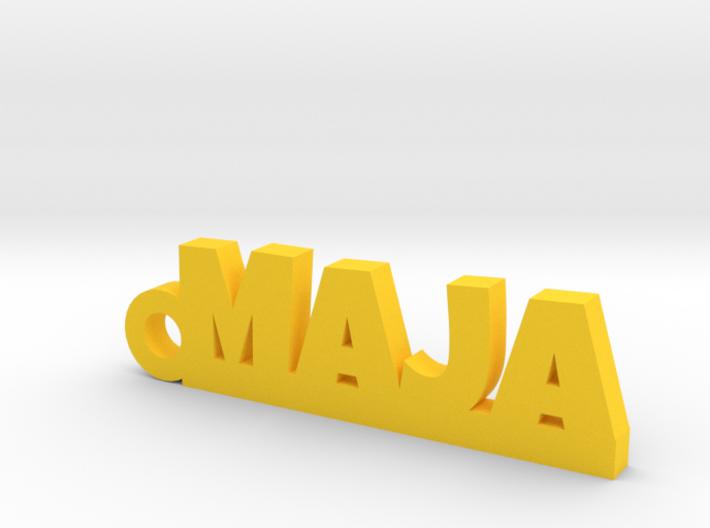 MAJA Keychain Lucky 3d printed